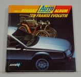 Deel 2: Renault Album ANWB Autokampioen, 1984. Zonder plaatjes.