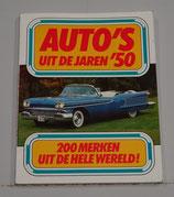 Auto's uit de jaren '50. Kjell Broberg, 1979. ISBN 9061204240.