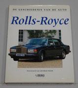 De geschiedenis van de auto, Rolls-Royce. George Bishop. 1991.