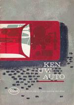 Boekje: Ken uw auto. Door Piet Olyslager. Een uitgave van Esso Nederland N.V.
