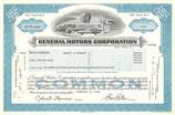 Te koop: Origineel certificaat voor aandelen General Motors.