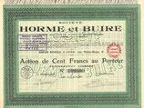 Te koop: Aandeel Société Horme et Buire uit 1923.
