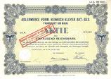 Te koop: Origineel aandeel Adler uit 1929.