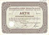 Te koop: Origineel aandeel Adler uit 1942.