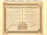 Te koop: Aandeel S.A. Espanola de Automoviles Darracq uit 1907.