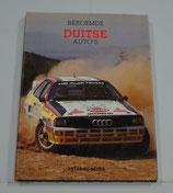 Beroemde Duitse Auto's. Peter Roberts, 1985.