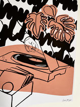Limitierter Siebdruck - Vinyl