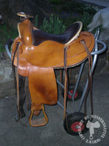 Westernsattel Rieser German Saddleman