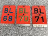 Kanton BL - 1968, 1970, 1971