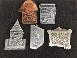 Basler Fasnacht Plaketten Kriegsjahre 1940-1945