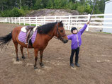 Cours d'équitation poney 30min