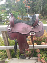 "Selle western ""Nevada Saddlery"" siège taille 16''"