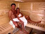 Sauna und Massage