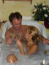 Kreide-Bad mit Zitronenöl