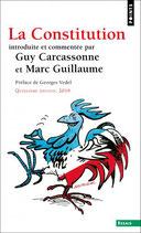 La constitution (introduite et commentée), G. CARCASSONNE et M. GUILLAUME