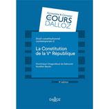 Droit constitutionnel contemporain 2 La Constitution de la Ve République, D. CHAGNOLLAUD de SABOURET