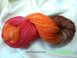 handgefärbte Sockenwolle Merino/Polyamid - Nr. 14