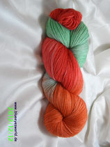 handgefärbte Sockenwolle Trekking - Atelier Zitron - Nr. 66