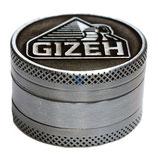Grinder Gizeh silver, 40mm, 3-tlg
