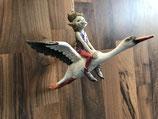 Pixie auf fliegender Möve