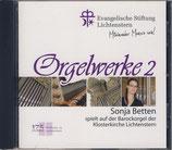 CD Lichtenstern (Orgelwerke 2)