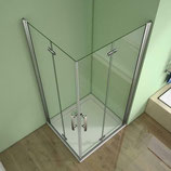 Duschabtrennung Eckeinstieg Dusche Falttür