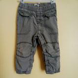 Pantalon en toile doublé