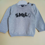 Pull gris 12 mois