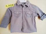 Chemise rayée 18 mois