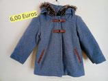 Duffle coat fille 3 ans