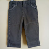Pantalon rayé noir et olive Obaïbi 3 mois