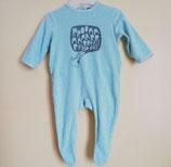 Pyjama en velours 6 mois