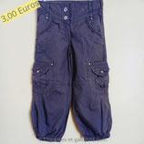 Pantalon en toile taupe 4 ans