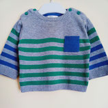 Pull maille synthétique 9 mois