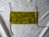 Behelfs-Mundschutz-Maske  - Grün