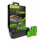 Зарядное устройство E-SUB S6 (шестиканальное)