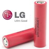 Аккумулятор LG 18650 - HE2 2500mAh - 20А (пик- 35A)