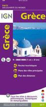Carte IGN Grèce