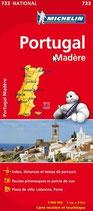 Carte Michelin 733 Portugal