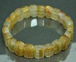 SOLDOUTゴールドルチルのブレスレット ハイグレード 25.2 gram       Gold rutile bracelet (high-grade)