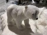 Eisbär stehend Plüsch 12x16cm