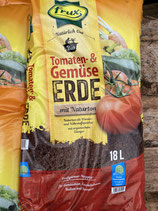 Frux Bio Tomaten- und Gemüseerde 18L