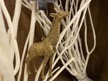 Giraffe Hänger Gold 6x16cm