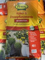 Frux Kübel- und Zitruspflanzenerde 40L