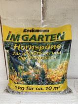 Hornspäne - natürlicher Stickstoffdünger 1kg