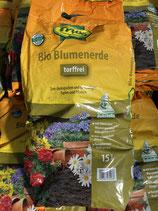 Frux Bio Blumenerde torffrei 15L