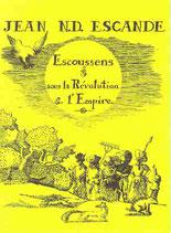 Escoussens sous la Révolution et l'Empire