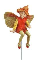 Flower Fairy mit Stab Kapuzinerkresse