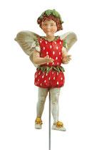 Flower Fairy mit Stab Erdbeere