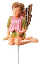 Flower Fairy mit Stab Ruprechtskraut
